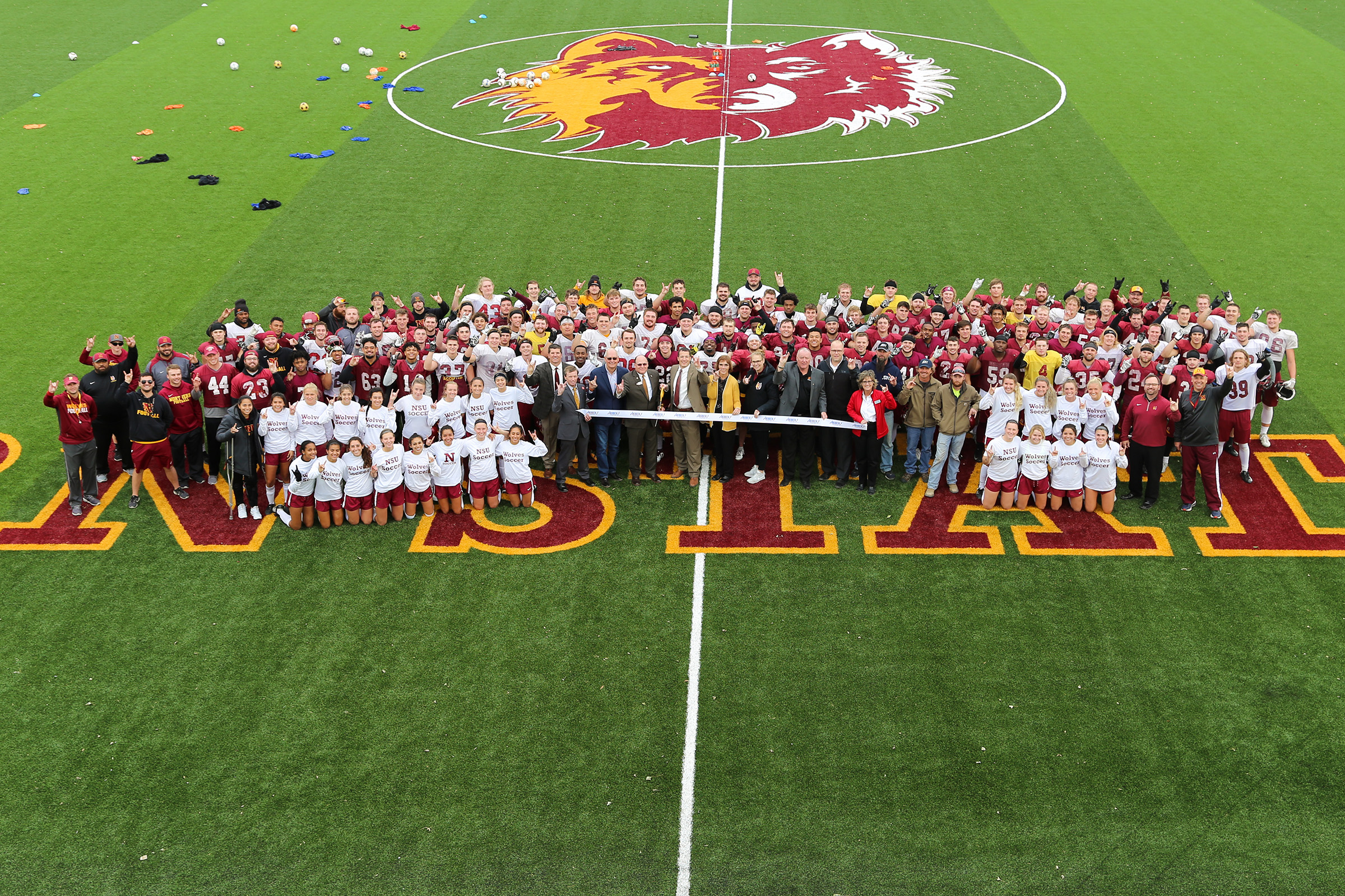 Athletic and Rec Fields Ribbon Cutting