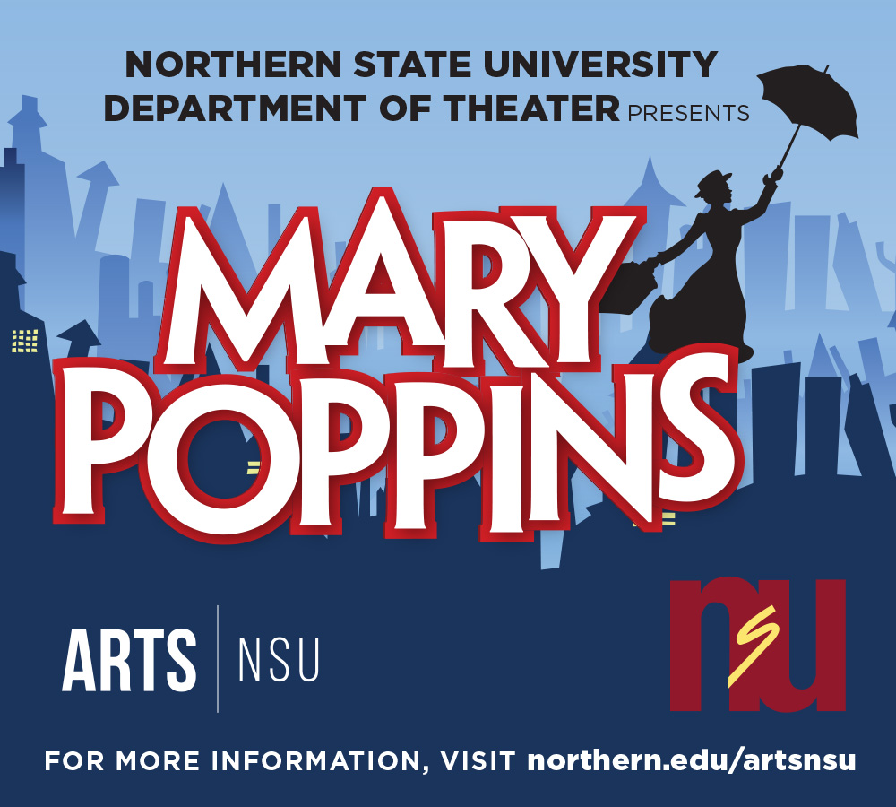 NSU Theater presents 'Mary Poppins' | Northern State University