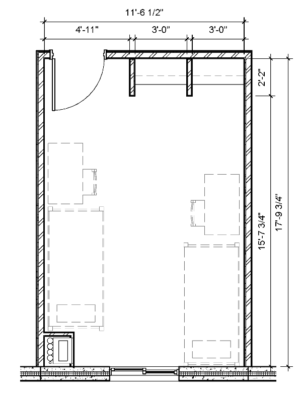 Great Plains East room floor plan