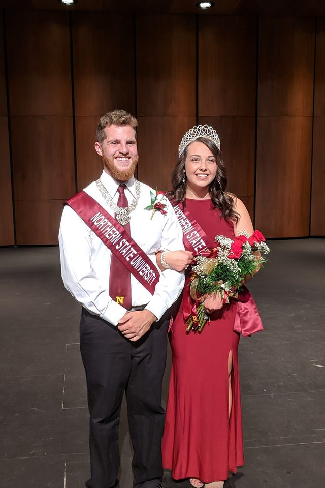 Jack Foy and Carly Hubert, 2018 marshal and queen