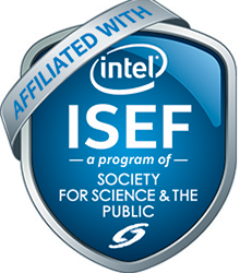 Affiliated with intel ISEF, a program of Society for Science and the Public