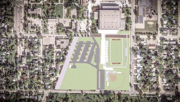 NSU Regional Sports Complex drawing