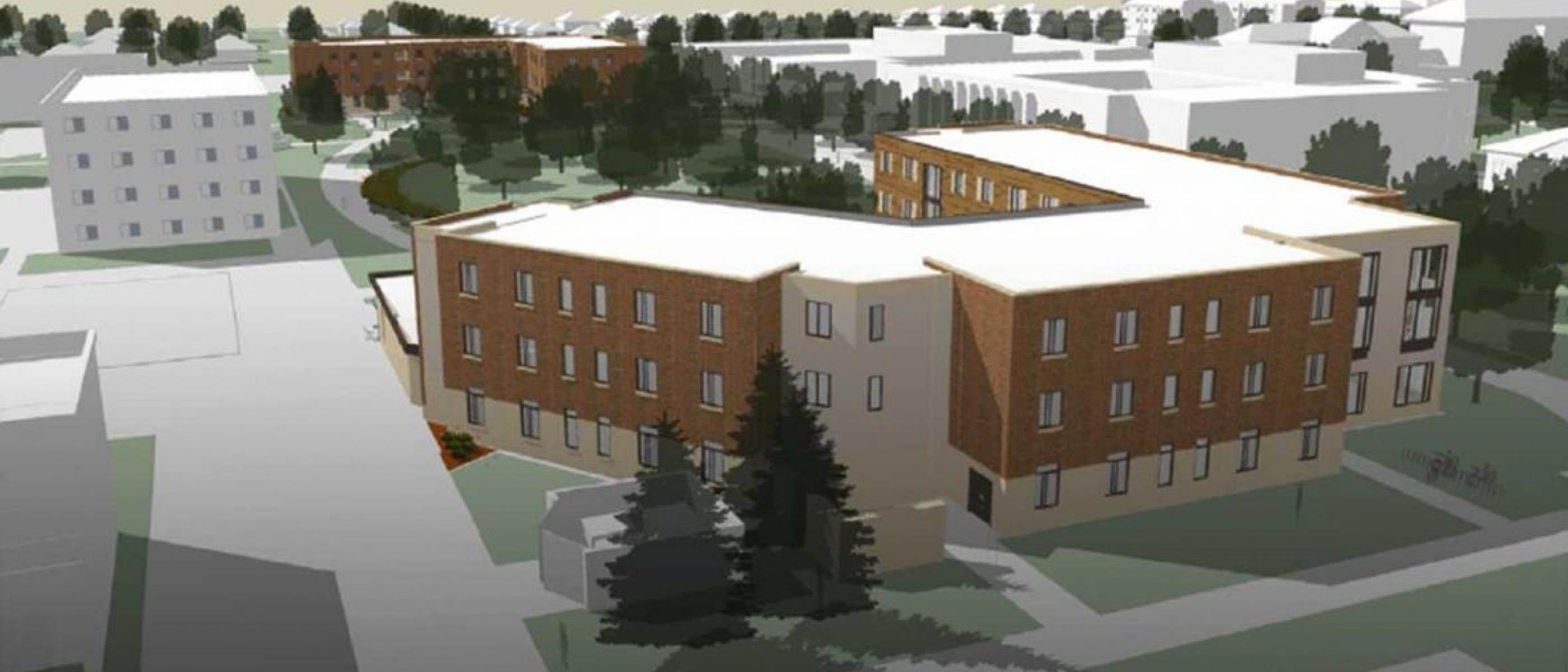 Experience new residence halls