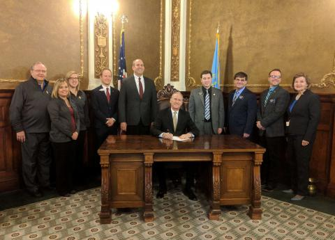 Governor signs NSU-SDSBVI bills