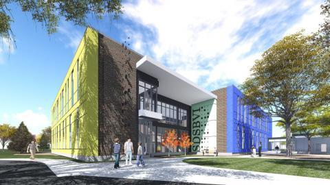 Rendering of new SDSBVI facility
