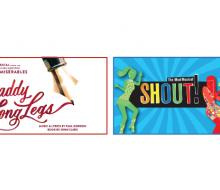 Graphics for two theater productions