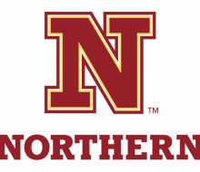 "Image of new Northern State University logo: ""N"" over ""Northern"""