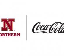 Graphic with NSU logo and Coca-Cola logo