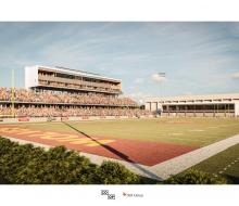 Rendering of NSU Regional Sports Complex