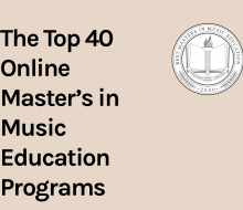 Intelligent.com's Top 40 Online Master's in Music Education Programs Title