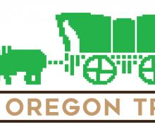 Graphic for theatre production, The Oregon Trail