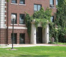 View of Lincoln Hall