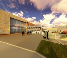 Proposed look of new South Dakota School for the Blind and Visually Impaired